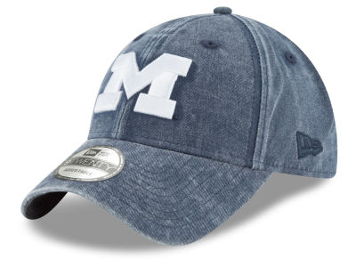 Michigan Wolverines New Era NCAA Italian Wash 9TWENTY Cap