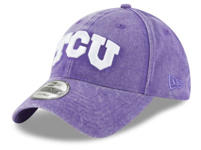 Texas Christian Horned Frogs New Era NCAA Italian Wash 9TWENTY Cap