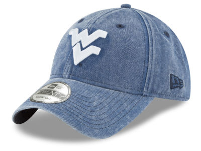 West Virginia Mountaineers New Era NCAA Italian Wash 9TWENTY Cap