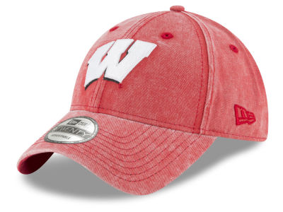 Wisconsin Badgers New Era NCAA Italian Wash 9TWENTY Cap