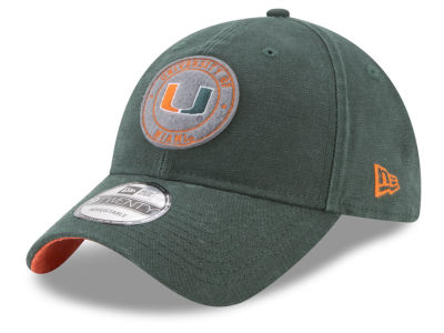 Miami Hurricanes New Era NCAA Varsity Patch 9TWENTY Cap