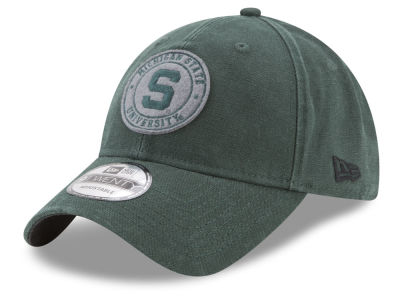 Michigan State Spartans New Era NCAA Varsity Patch 9TWENTY Cap