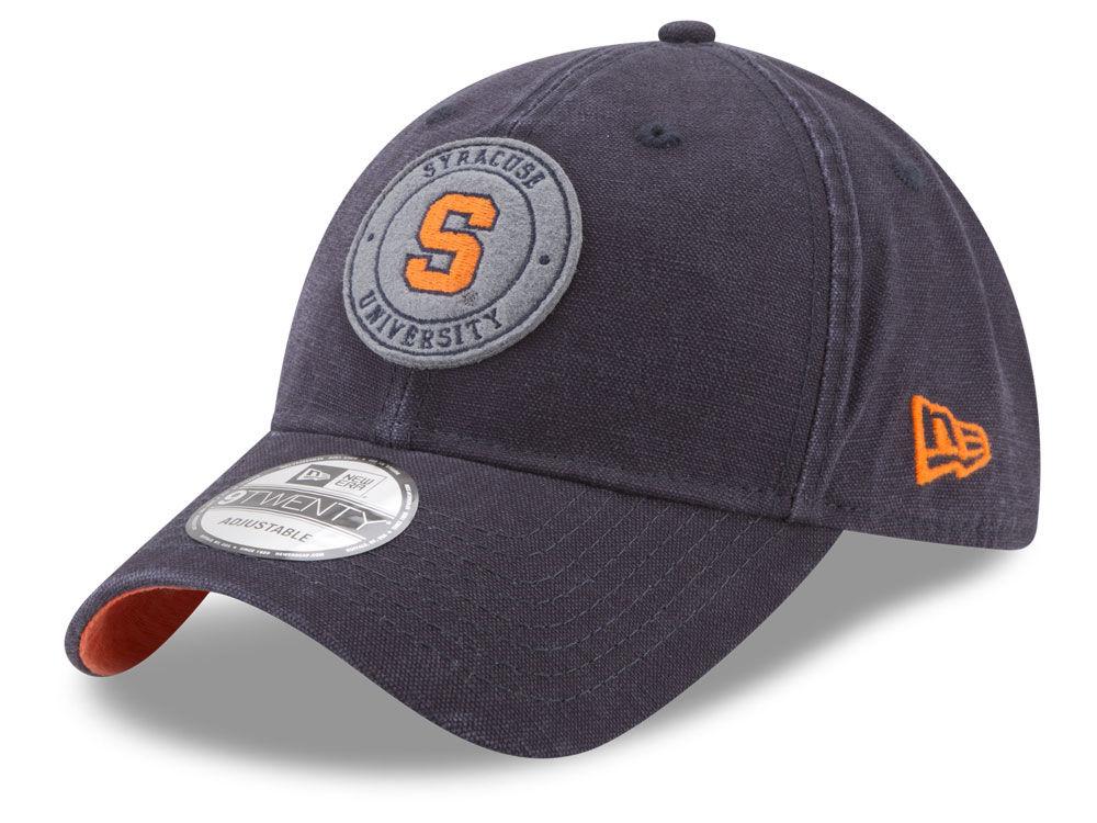 9e9c61430e2e3 ... where can i buy syracuse orange new era ncaa varsity patch 9twenty cap  ec9ee 56164