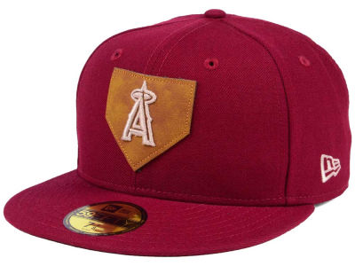 Los Angeles Angels New Era MLB The Logo of Leather 59FIFTY Cap