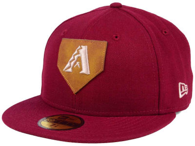 Arizona Diamondbacks New Era MLB The Logo of Leather 59FIFTY Cap