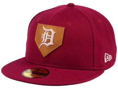 Detroit Tigers New Era MLB The Logo of Leather 59FIFTY Cap