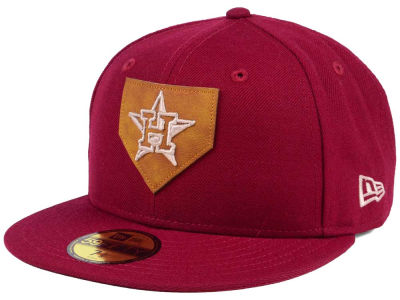 Houston Astros New Era MLB The Logo of Leather 59FIFTY Cap