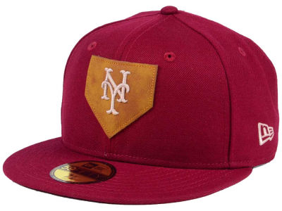 the best attitude 49eee 89a5c New York Mets New Era MLB The Logo of Leather 59FIFTY Cap