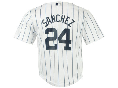 New York Yankees Gary Sanchez MLB Toddler Player Replica Cool Base Jersey