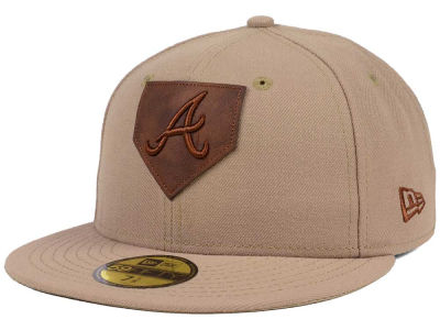 Atlanta Braves New Era MLB The Logo of Leather 59FIFTY Cap