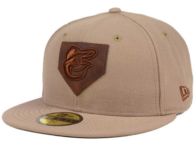 Baltimore Orioles New Era MLB The Logo of Leather 59FIFTY Cap