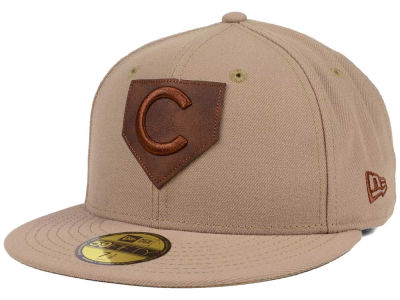 Chicago Cubs New Era MLB The Logo of Leather 59FIFTY Cap
