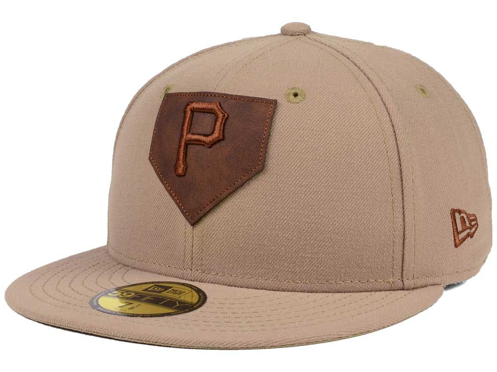 release date: dc0a9 35212 ... get pittsburgh pirates new era mlb the logo of leather 59fifty cap  f8371 d767e
