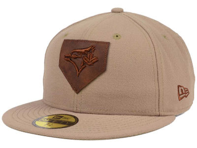 Toronto Blue Jays New Era MLB The Logo of Leather 59FIFTY Cap