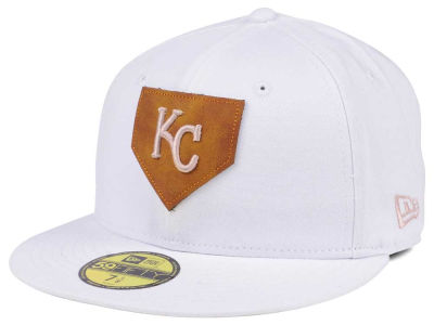 Kansas City Royals New Era MLB The Logo of Leather 59FIFTY Cap