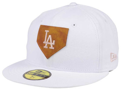 Los Angeles Dodgers New Era MLB The Logo of Leather 59FIFTY Cap