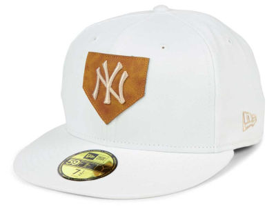 New York Yankees New Era MLB The Logo of Leather 59FIFTY Cap