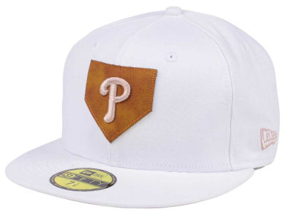 Philadelphia Phillies New Era MLB The Logo of Leather 59FIFTY Cap