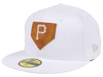 Pittsburgh Pirates New Era MLB The Logo of Leather 59FIFTY Cap