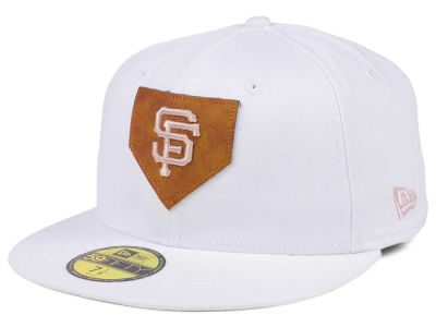 San Francisco Giants New Era MLB The Logo of Leather 59FIFTY Cap