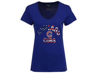 Chicago Cubs '47 MLB Women's Americana T-Shirt