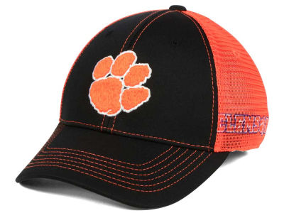 sports shoes e225b 5375a Clemson Tigers Top of the World NCAA Peakout Stretch Cap