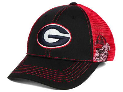 Georgia Bulldogs Top of the World NCAA Peakout Stretch Cap