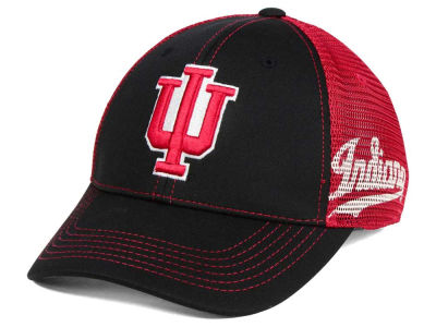 Indiana Hoosiers Top of the World NCAA Peakout Stretch Cap