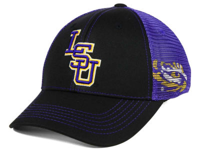 LSU Tigers Top of the World NCAA Peakout Stretch Cap