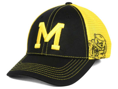 Michigan Wolverines Top of the World NCAA Peakout Stretch Cap