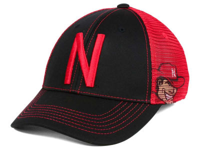 Nebraska Cornhuskers Top of the World NCAA Peakout Stretch Cap