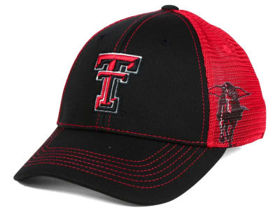 Texas Tech Red Raiders Top of the World NCAA Peakout Stretch Cap