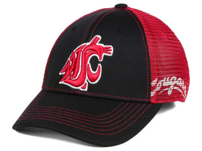 Washington State Cougars Top of the World NCAA Peakout Stretch Cap