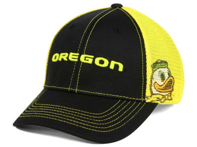 Oregon Ducks Top of the World NCAA Peakout Stretch Cap