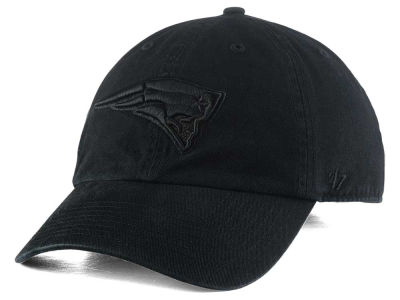 New England Patriots '47 NFL Black CLEAN UP Cap
