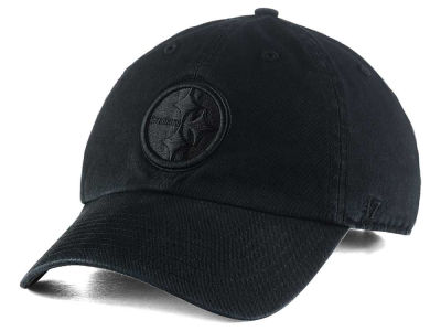 Pittsburgh Steelers '47 NFL Black CLEAN UP Cap