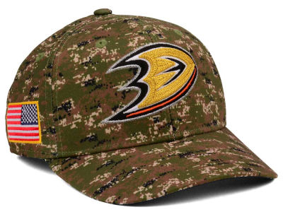 Anaheim Ducks adidas NHL Camo Structured Flex Cap