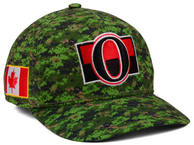 Ottawa Senators adidas NHL Camo Structured Flex Cap
