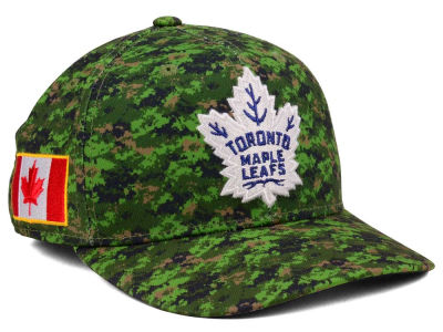 Toronto Maple Leafs adidas NHL Camo Structured Flex Cap
