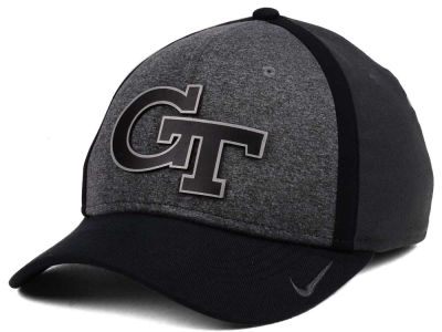 Georgia-Tech Nike NCAA Heather Stretch Fit Cap