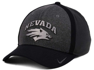 Nevada Wolf Pack Nike NCAA Heather Stretch Fit Cap