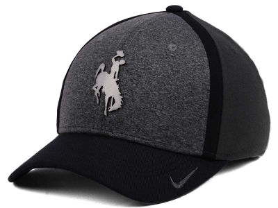 Wyoming Cowboys Nike NCAA Heather Stretch Fit Cap