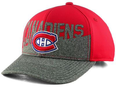Montreal Canadiens adidas NHL Alternate Slashing Adjustable Cap