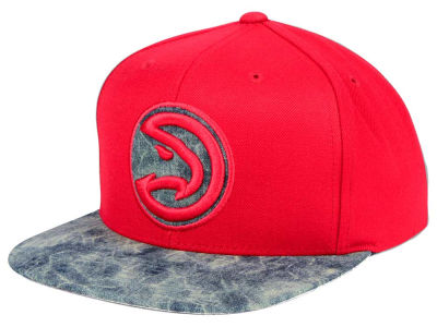 Atlanta Hawks Mitchell & Ness NBA All Color Acid Wash Snapback Cap
