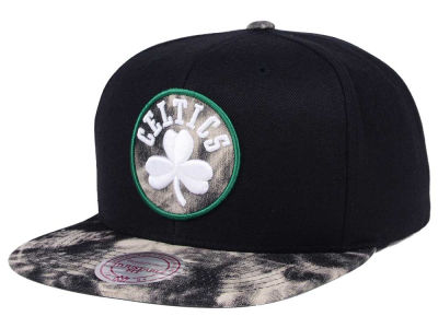 Boston Celtics Mitchell & Ness NBA All Color Acid Wash Snapback Cap