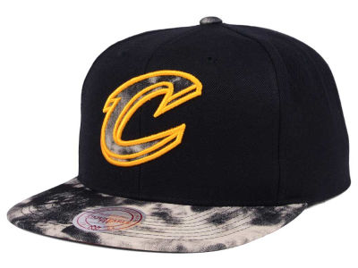 Cleveland Cavaliers Mitchell & Ness NBA All Color Acid Wash Snapback Cap