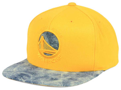Golden State Warriors Mitchell & Ness NBA All Color Acid Wash Snapback Cap