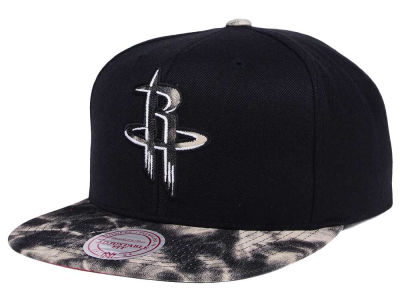 Houston Rockets Mitchell & Ness NBA All Color Acid Wash Snapback Cap