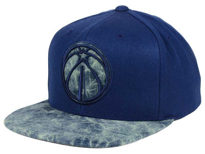 Washington Wizards Mitchell & Ness NBA All Color Acid Wash Snapback Cap