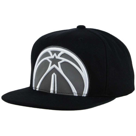 Washington Wizards Mitchell & Ness XL Reflective Cropped Snapback Cap